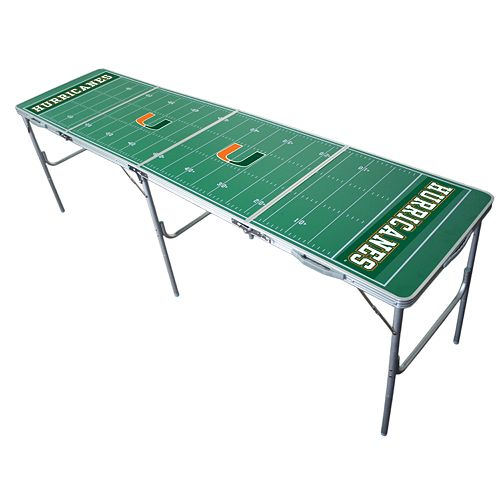 Miami Hurricanes Tailgate Table