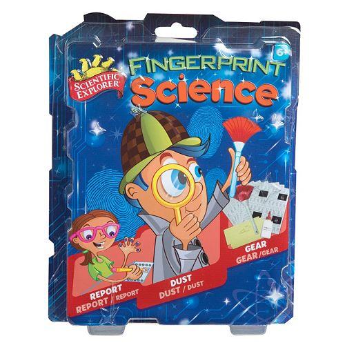 Scientific Explorer Fingerprint Science Mini Lab