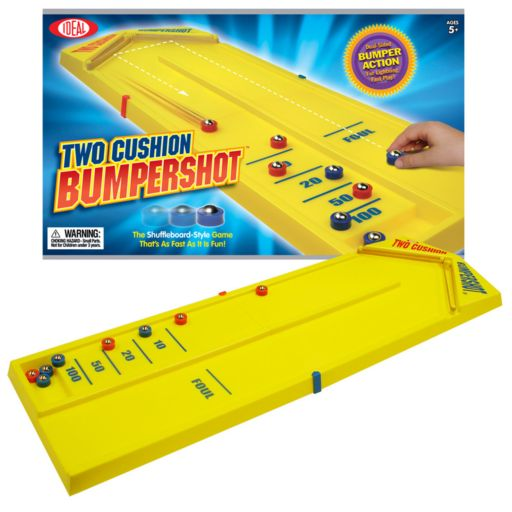 Ideal Two Cushion Bumpershot