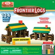 Ideal Frontier Logs 114 pc Building Set