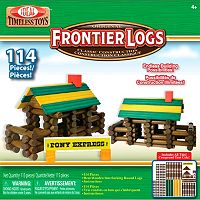 Ideal Frontier Logs 114-pc. Building Set