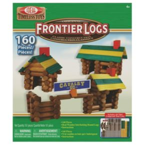 Ideal Frontier Logs 160-pc. Building Set