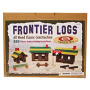 Ideal Frontier Logs 220 pc Building Set