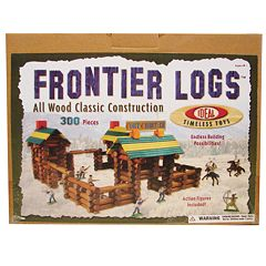 Ideal Frontier Logs™300-pc. Building Set