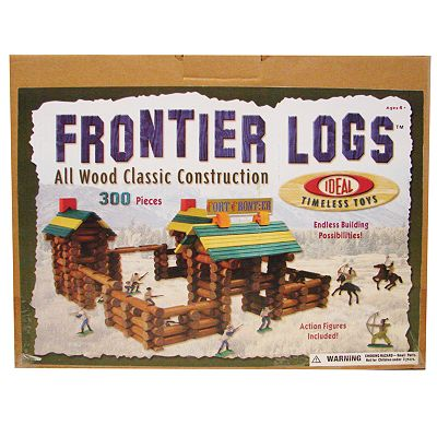 Ideal Frontier Logs 300-pc. Building Set