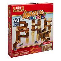 Ideal Amaze 'N' Marbles 60 pc Construction Set