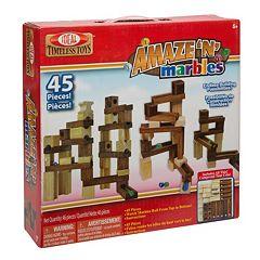 Ideal Amaze 'N' Marbles 45 pc Construction Set