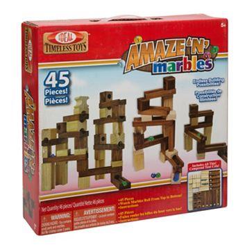 Ideal Amaze 'N' Marbles 45-pc. Construction Set