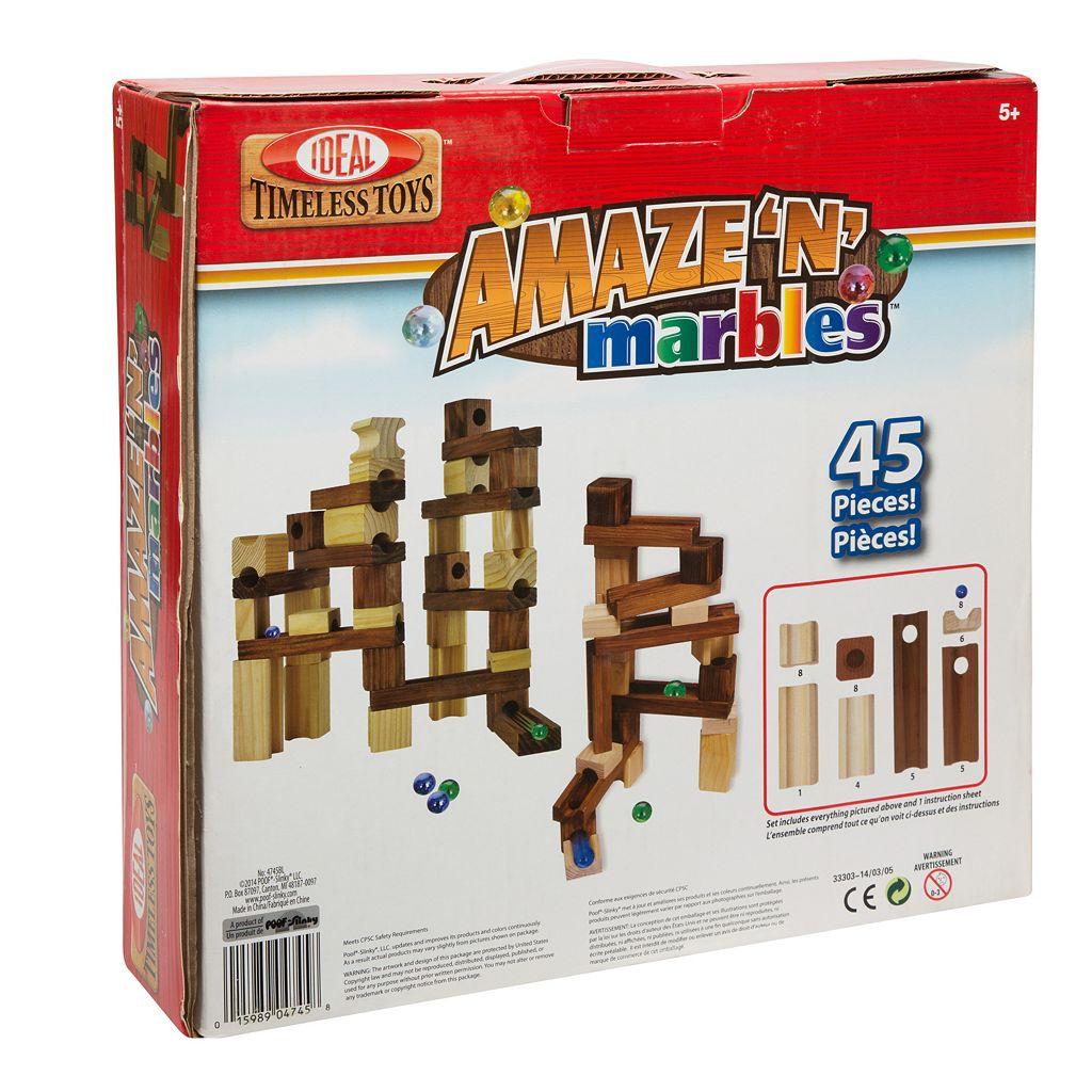 Ideal Amaze N Marbles 45-pc. Construction Set