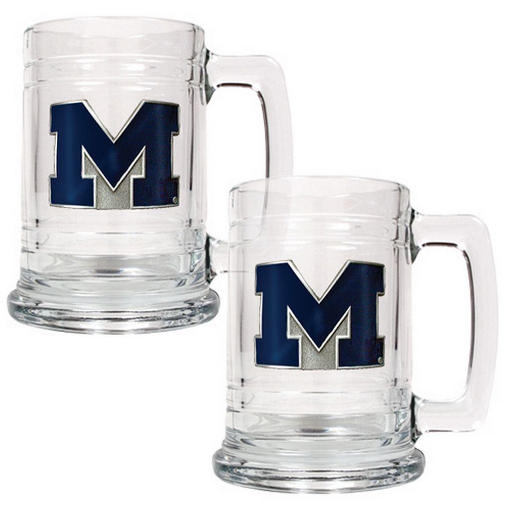 Michigan Wolverines 2-pc. Tankard Set