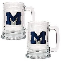 Michigan Wolverines 2-pc. Tankard Set