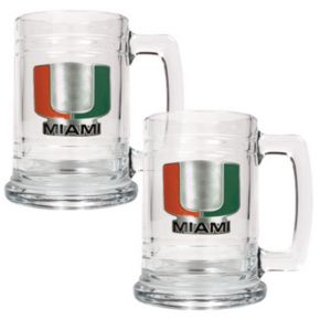 Miami Hurricanes 2-pc. Mug Set