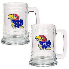 Kansas Jayhawks 2-pc. Tankard Set