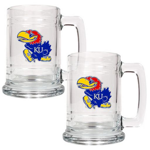 Kansas Jayhawks 2-pc. Tankard Set