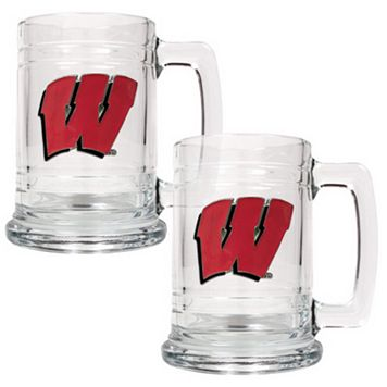 Wisconsin Badgers 2-pc. Tankard Set