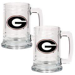 Georgia Bulldogs 2-pc. Tankard Set