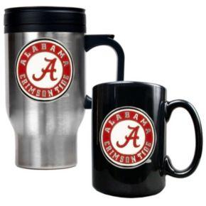 Alabama Crimson Tide 2-pc. Travel Mug Set