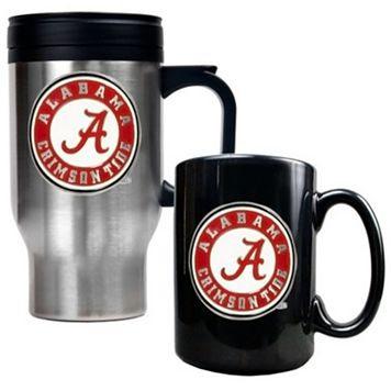 Alabama Crimson Tide 2-pc. Travel Mug Set