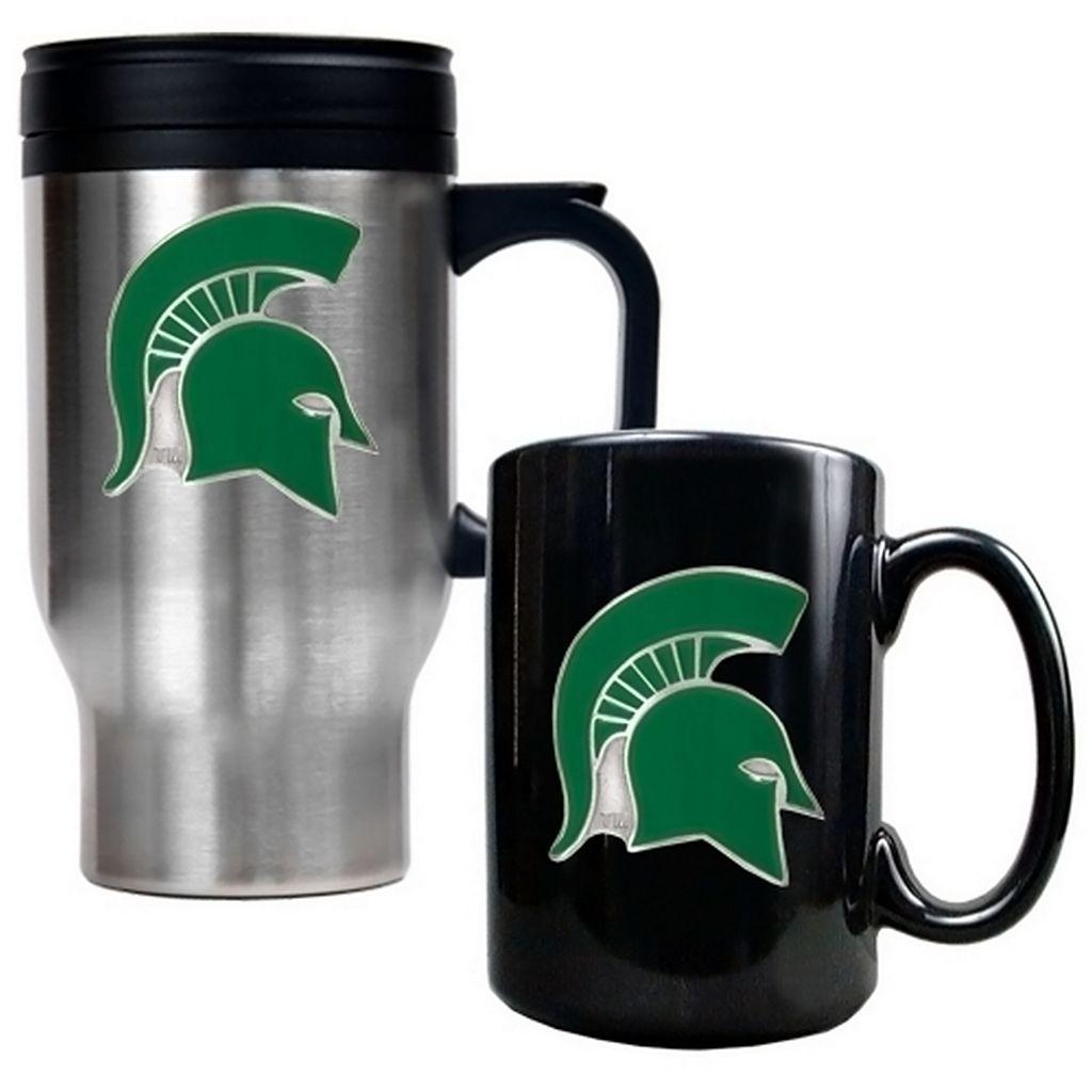 Michigan State Spartans 2-pc. Mug Set