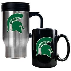 Michigan State Spartans 2 pc Mug Set