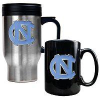North Carolina Tar Heels 2 pc Mug Set
