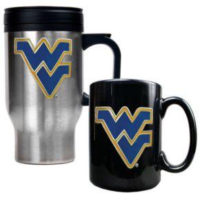 West Virginia Mountaineers 2-pc. Travel Mug Set