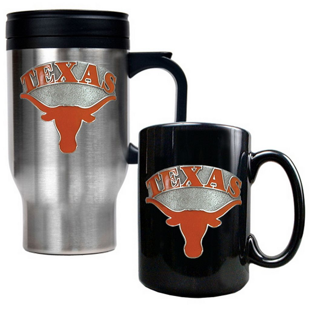 Texas Longhorns 2-pc. Mug Set