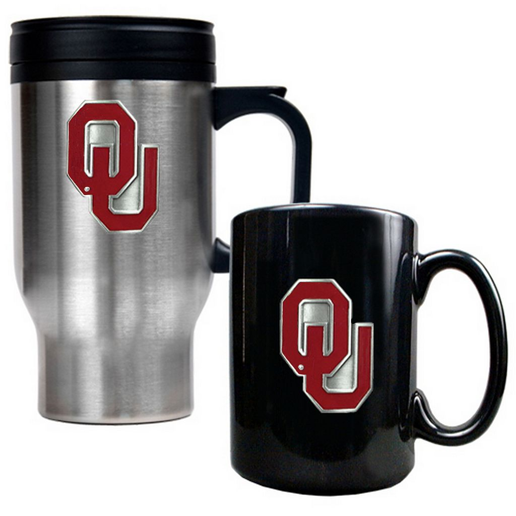 Oklahoma Sooners 2-pc. Mug Set