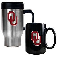 Oklahoma Sooners 2 pc Mug Set
