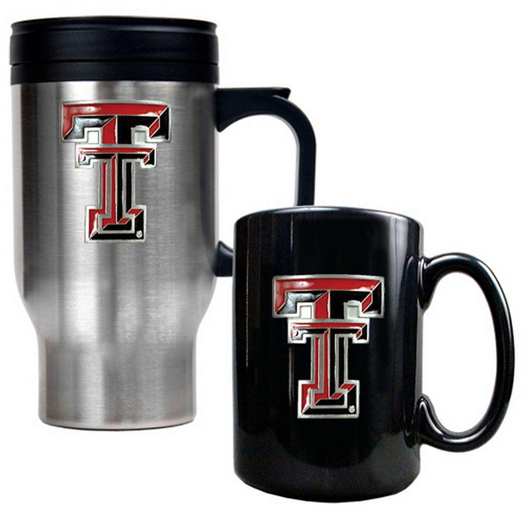 Texas Tech Red Raiders 2-pc. Travel Mug Set