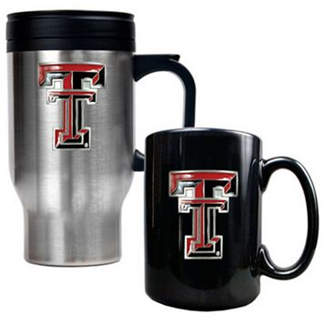 Texas Tech Red Raiders 2-pc. Travel Mug Set
