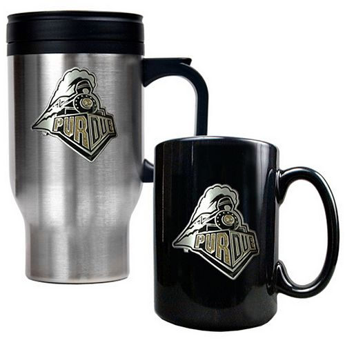 Purdue Boilermakers 2-pc. Mug Set