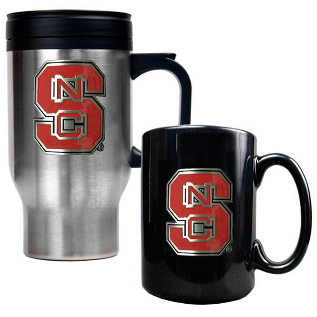 North Carolina State Wolfpack 2-pc. Travel Mug Set