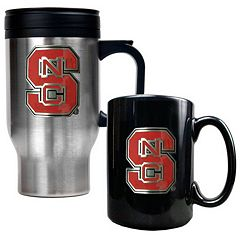 North Carolina State Wolfpack 2-pc. Travel Mug Set