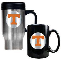 Tennessee Volunteers 2 pc Travel Mug Set