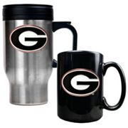 Georgia Bulldogs 2-pc. Mug Set