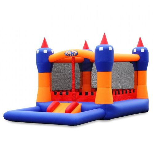 Blast Zone Ball Kingdom Inflatable Bounce House