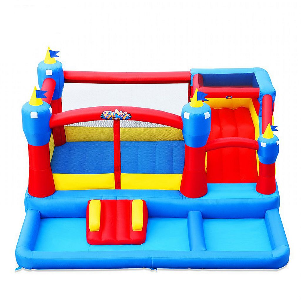 Blast Zone Misty Kingdom Inflatable Amusement Park