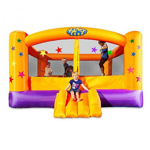 Blast Zone Superstar Inflatable Bounce House