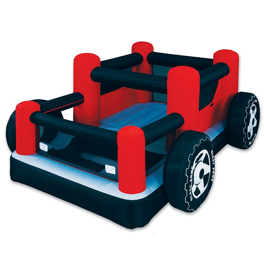 Blast Zone Rock Crawler Inflatable Bounce House