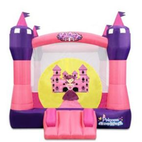 Blast Zone Princess Dreamland Inflatable Bounce Castle