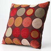 Textured Circle Pillow