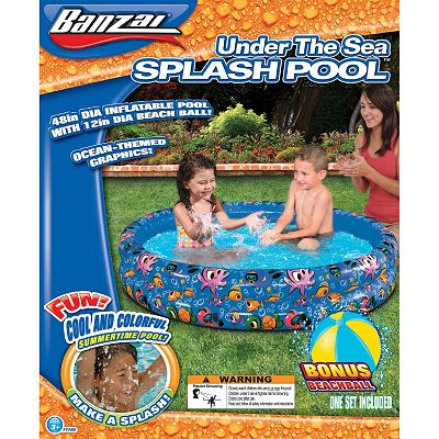 Banzai Ocean Friends Reef Pool and Ball