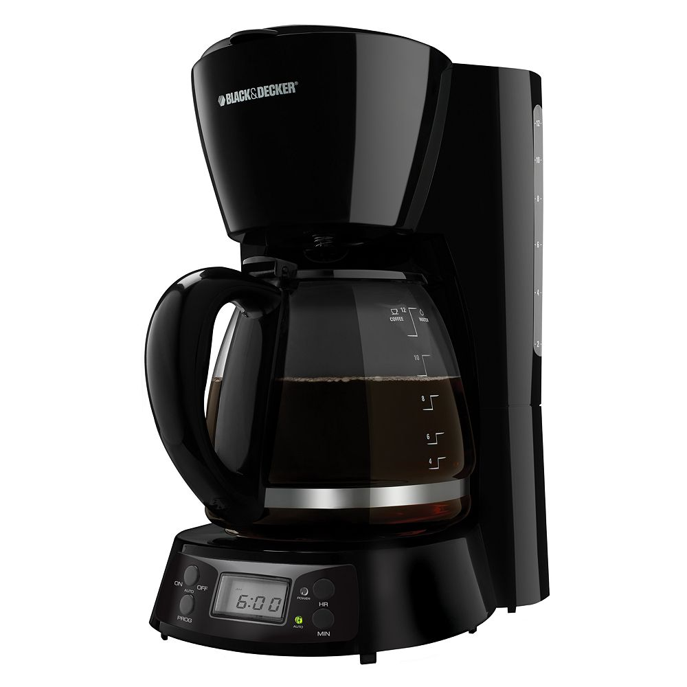 Black and decker 12 cup programmable - Black Decker 12 Cup Programmable Coffee Maker