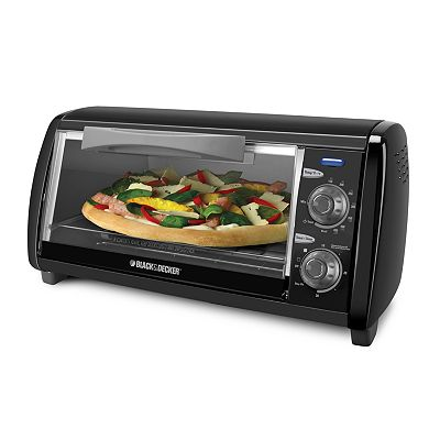 Black and Decker 4-Slice Toaster Oven