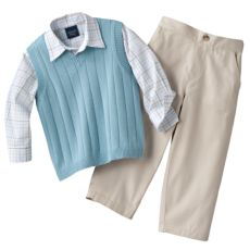 Good Lad Great Guy 3-pc. Sweater Vest Set