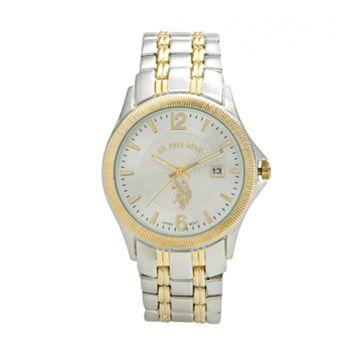 U.S. Polo Assn. Men's Two Tone Watch - USC80001
