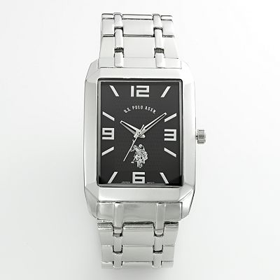 U.S. Polo Association Silver-Tone Watch - Men