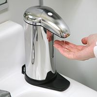 iTouchless 16-oz. Stainless Steel Automatic Soap Dispenser