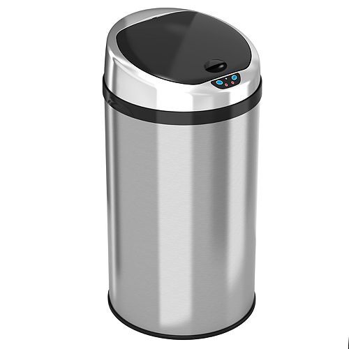 iTouchless® 8-gallonTouchless Trashcan® NX
